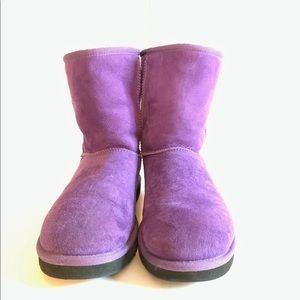 Ugg Boots women's 8 Purple